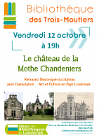 Affiche Animation Chateau MotheChandeniers