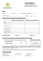 Fiche inscription APS
